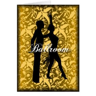 Ballroom Dancing Greeting Card