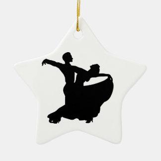 Ballroom Dancing Christmas Ornament