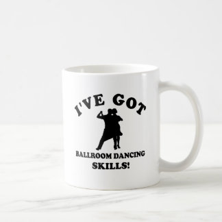 Ballroom dancing designs mug