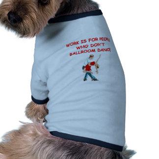 ballroom dancing doggie tee