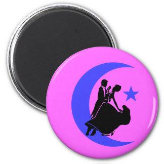 Ballroom Dancing Fridge Magnet