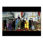 Ballroom dancing in Tokyo circa 1888 Postcard