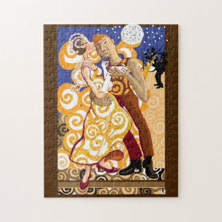 Ballroom dancing jigsaw puzzle