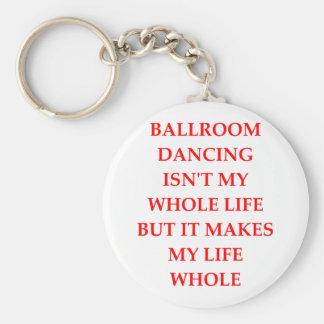 ballroom dancing key ring