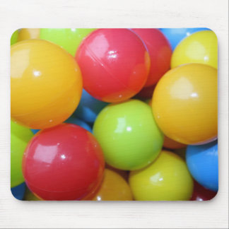 Balls in Assorted Colours Mouse Pad