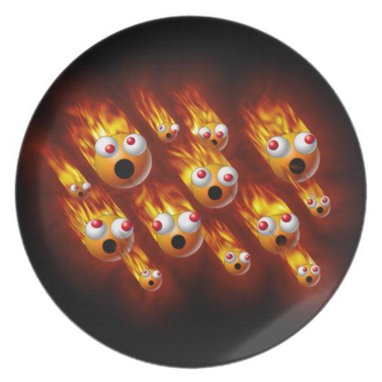 balls of fire plate