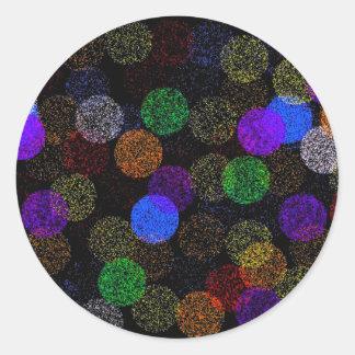 Balls of Yarn Round Stickers