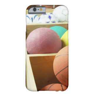 Balls stored in bins barely there iPhone 6 case
