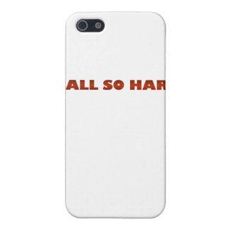 ballsohard.png case for iPhone 5/5S