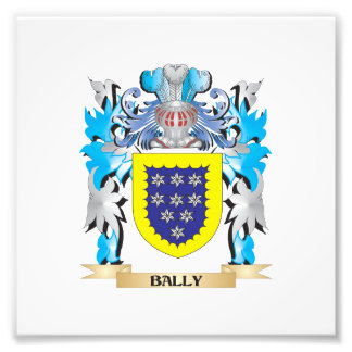 Bally Coat of Arms Photo Print