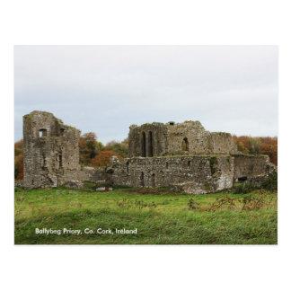 Ballybeg Priory, Ireland Postcard