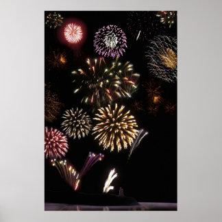 ballybunion fireworks poster