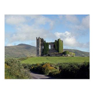 Ballycarbery Castle Ruins Postcard
