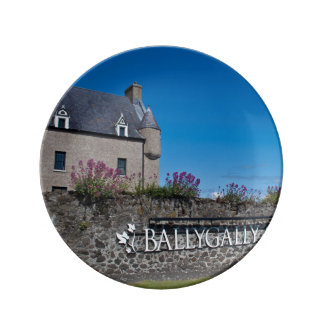 Ballygally Castle Decorative Porcelain Plate