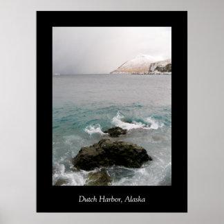 Ballyhoo Whirlpool, Dutch Harbor, Alaska Poster