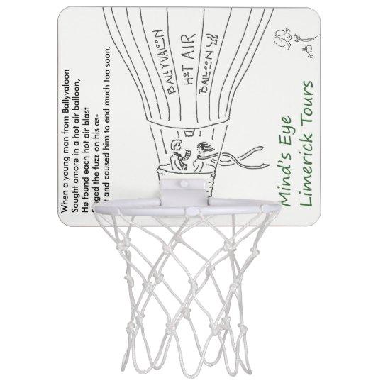 Ballyvaloon mini basketball hoop from MELT