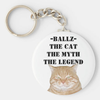 BALLZ- THE LEGEND KEYCHAIN