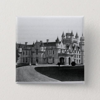 Balmoral Castle 15 Cm Square Badge