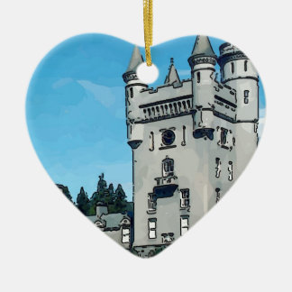 Balmoral Castle Christmas Ornament