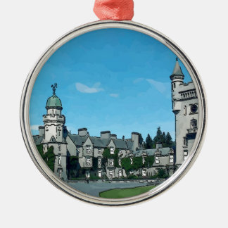 Balmoral Castle Christmas Ornament