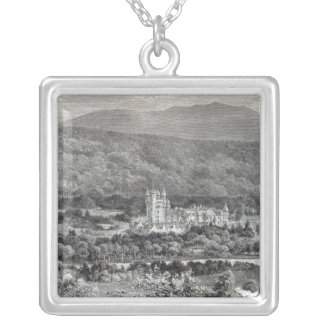 Balmoral, from 'Leisure Hour', 1888 Silver Plated Necklace