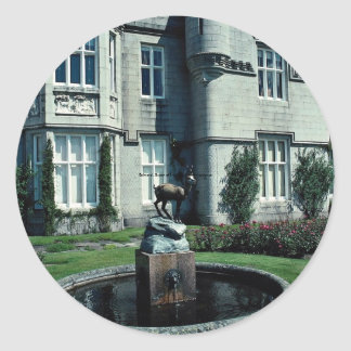 Balmoral Queen of England s Scottish residence Round Sticker