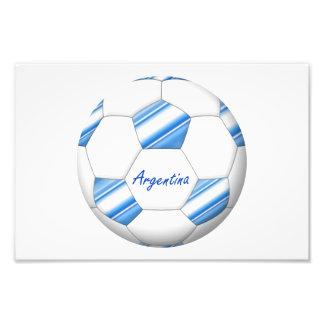 Balón de FÚTBOL ARGENTINA del equipo nacional 2014 Fotografía