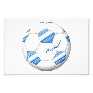 Balón de FÚTBOL ARGENTINA selección nacional 2014 Fotografía