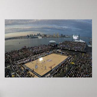 Baloncesto en San Diego EEUU Poster