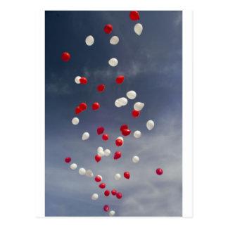 Baloons Postcard