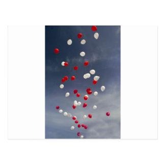 Baloons Post Card