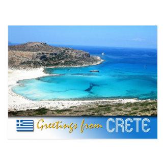 Balos Lagoon Beach Crete Greece Postcards