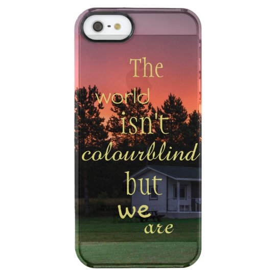 Baltic edition - Estonia Clear iPhone SE/5/5s Case