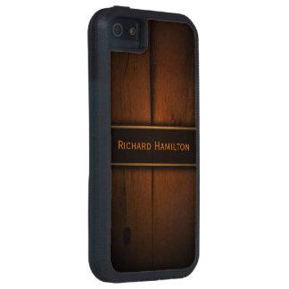Baltic Pine Wood Faux Wood iPhone 5 5S Tough Case