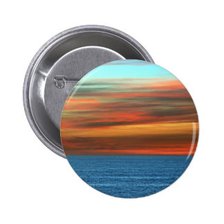 Baltic Sea At Dusk 6 Cm Round Badge