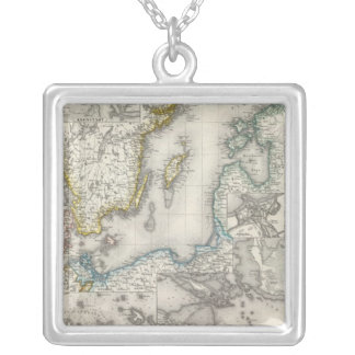 Baltic Sea Region Silver Plated Necklace