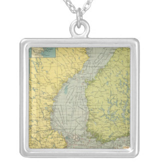 Baltic Sea Silver Plated Necklace