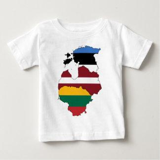 Baltic states baby T-Shirt