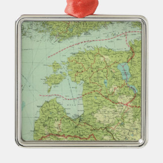 Baltic States & East Prussia Christmas Ornament