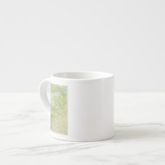 Baltic States & East Prussia Espresso Mug