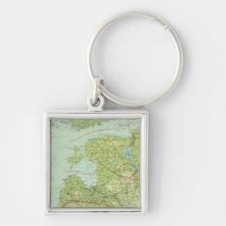 Baltic States & East Prussia Key Ring
