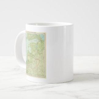 Baltic States & East Prussia Large Coffee Mug