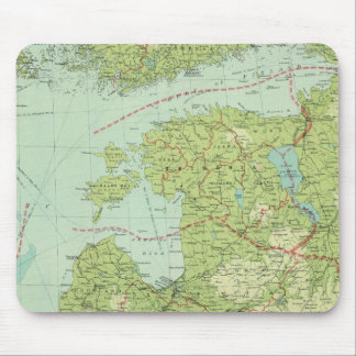 Baltic States & East Prussia Mouse Mat