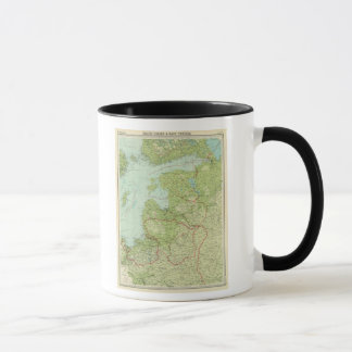 Baltic States & East Prussia Mug