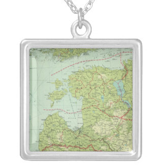 Baltic States & East Prussia Silver Plated Necklace
