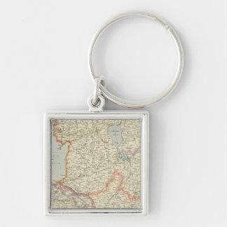 Baltic States Key Ring