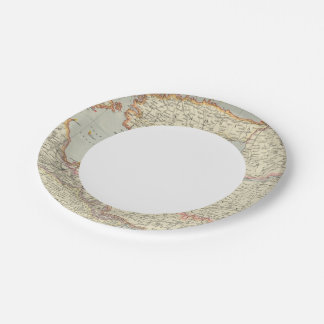 Baltic States Paper Plate