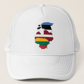 Baltic states trucker hat