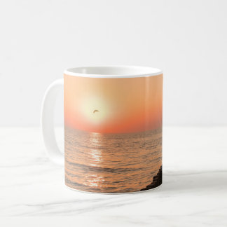 Baltic sunset coffee mug