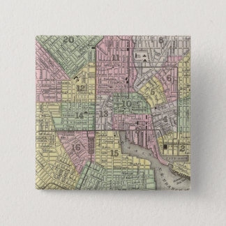 Baltimore 15 Cm Square Badge